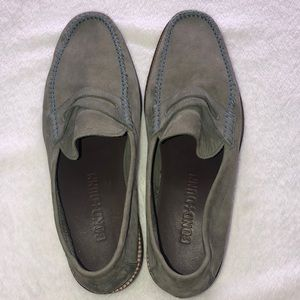 Bond and Dunn suede loafers